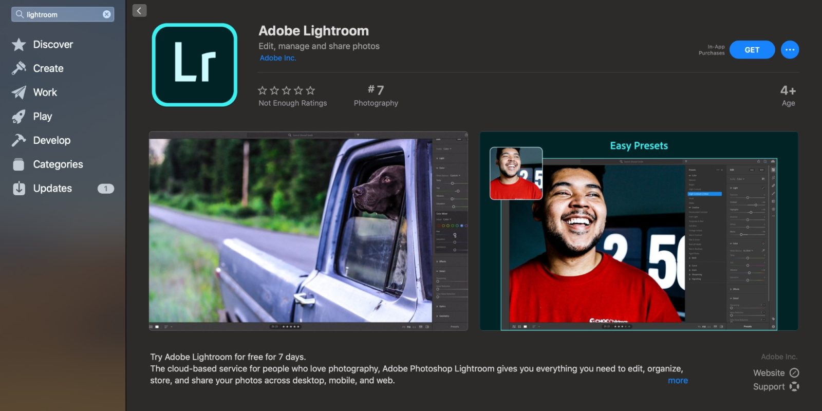 Lightroom for the Mac App Store is now available - 9to5Mac