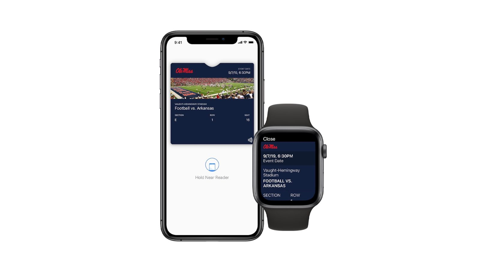 College football ticketing service announces support for contactless entry with Apple Wallet