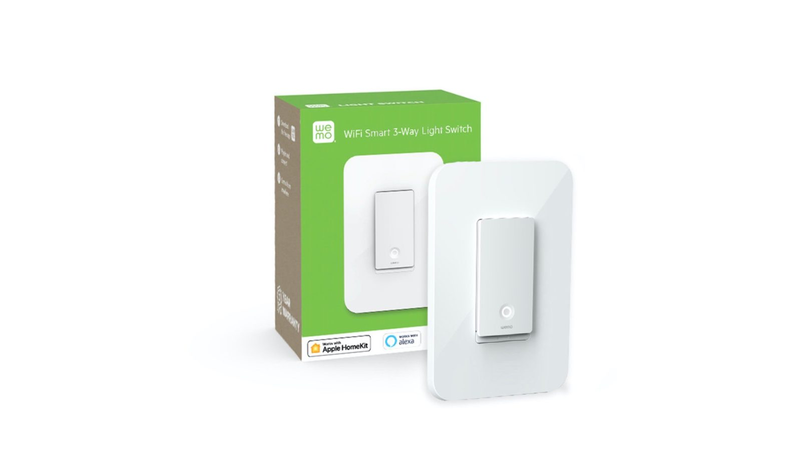 wemo's versatile 3-way smart light switch now available, launching in apple  stores next week