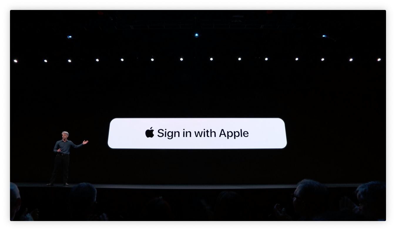"""Techmeme: Apple debuts """"Sign in with Apple"""" button for apps"""