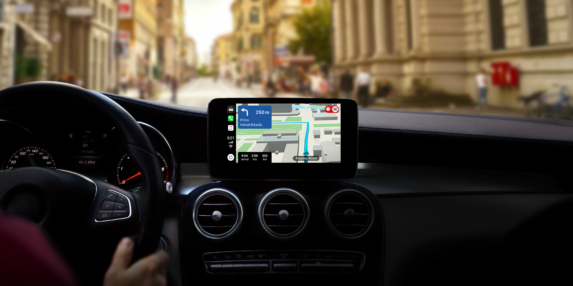 TomTom revamps navigation app with offline maps in CarPlay