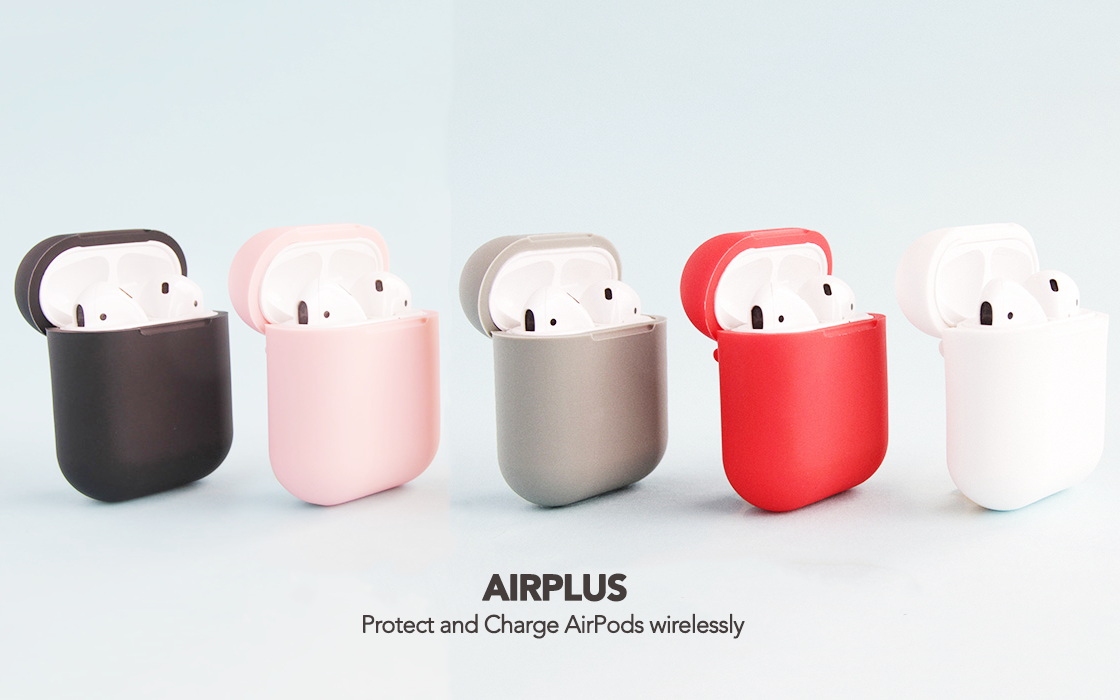 AirPlus case adds wireless charging to Apple's AirPods for