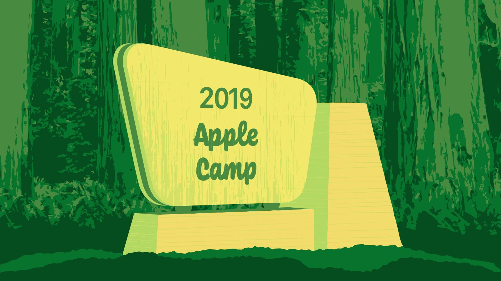 2019 Apple Camp registration now open with new art and