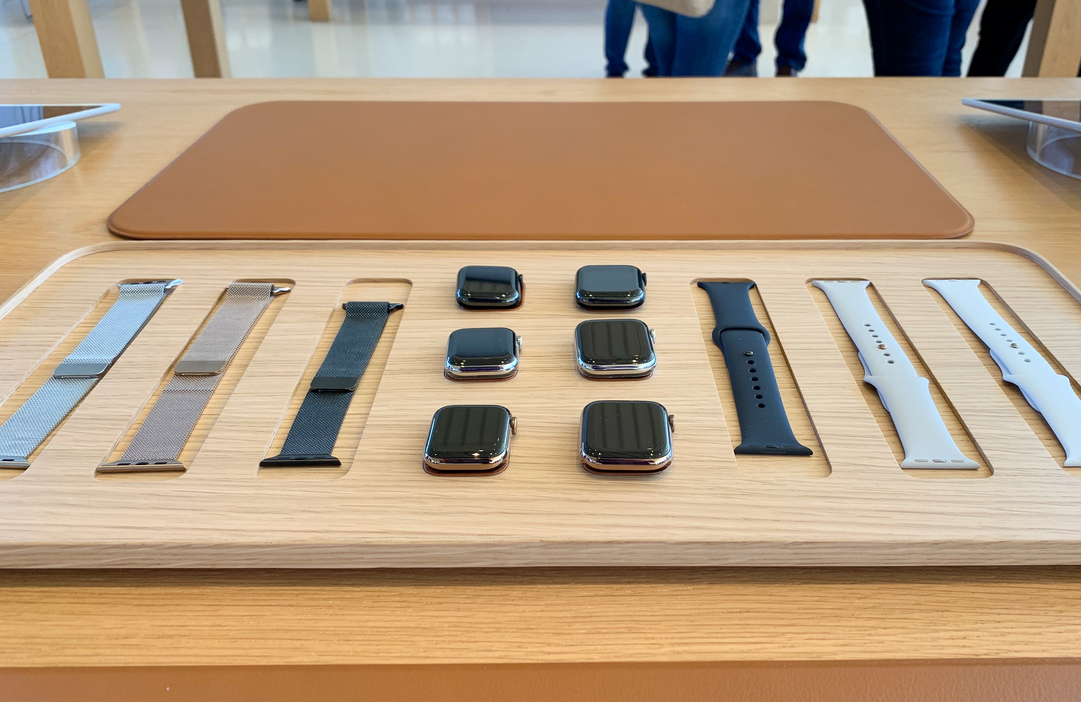 Apple Watch Band Tray Display