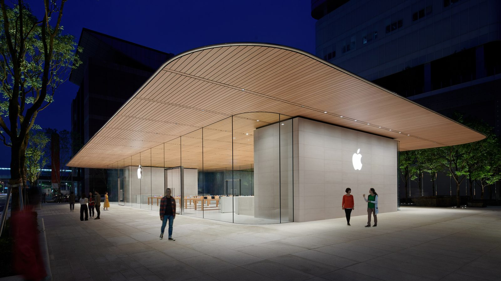 Xinyi A13 Apple Store design details previewed in Taipei