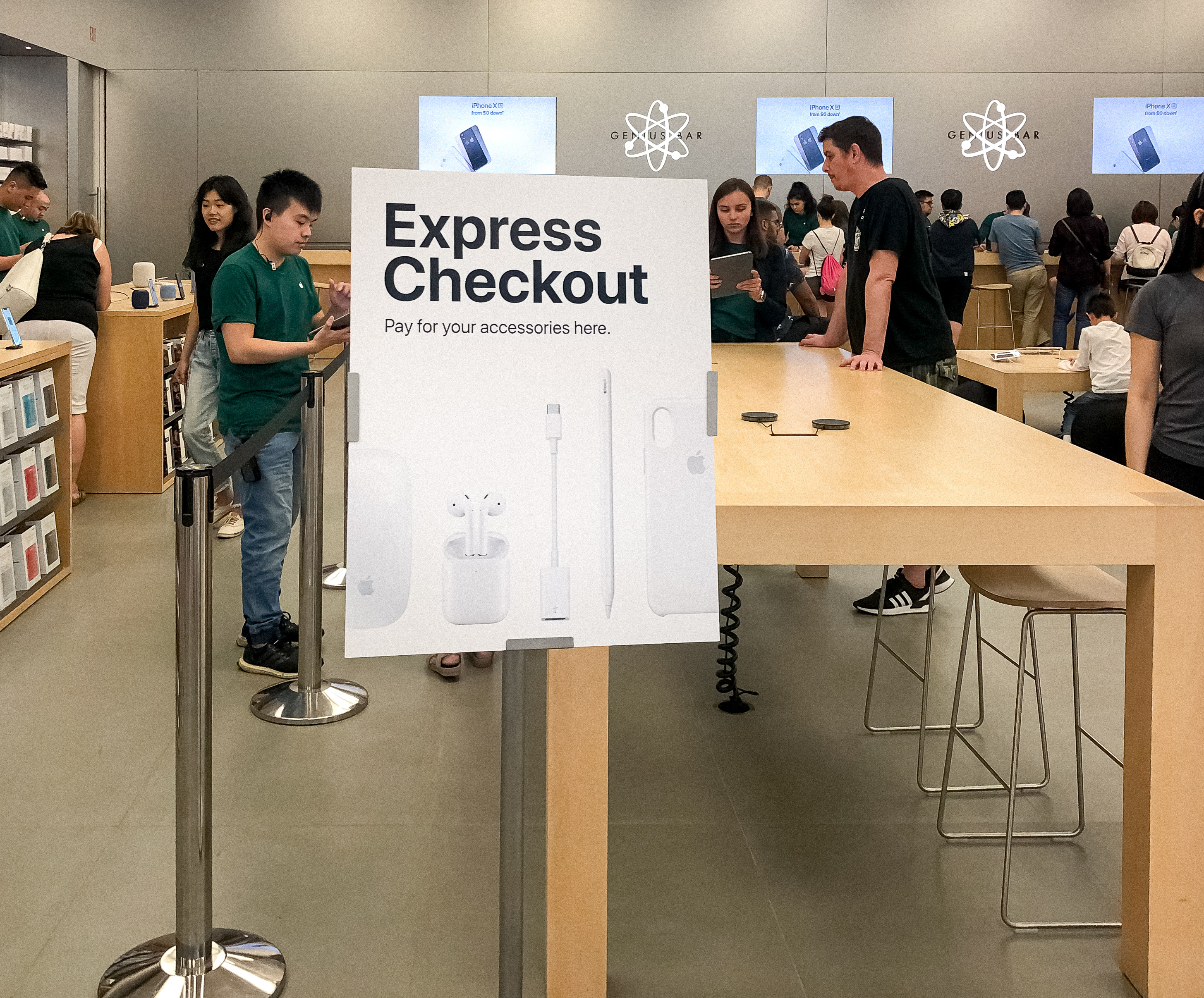 Apple Store Express Checkout