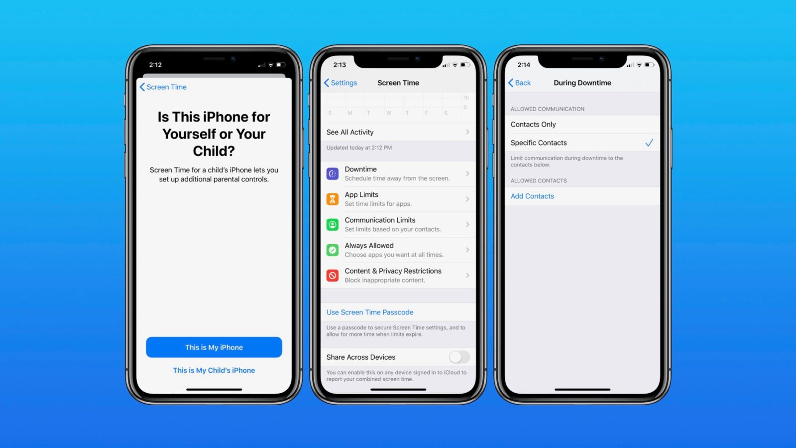 iOS 13: How to set iPhone Communication Limits for your kid with Screen Time