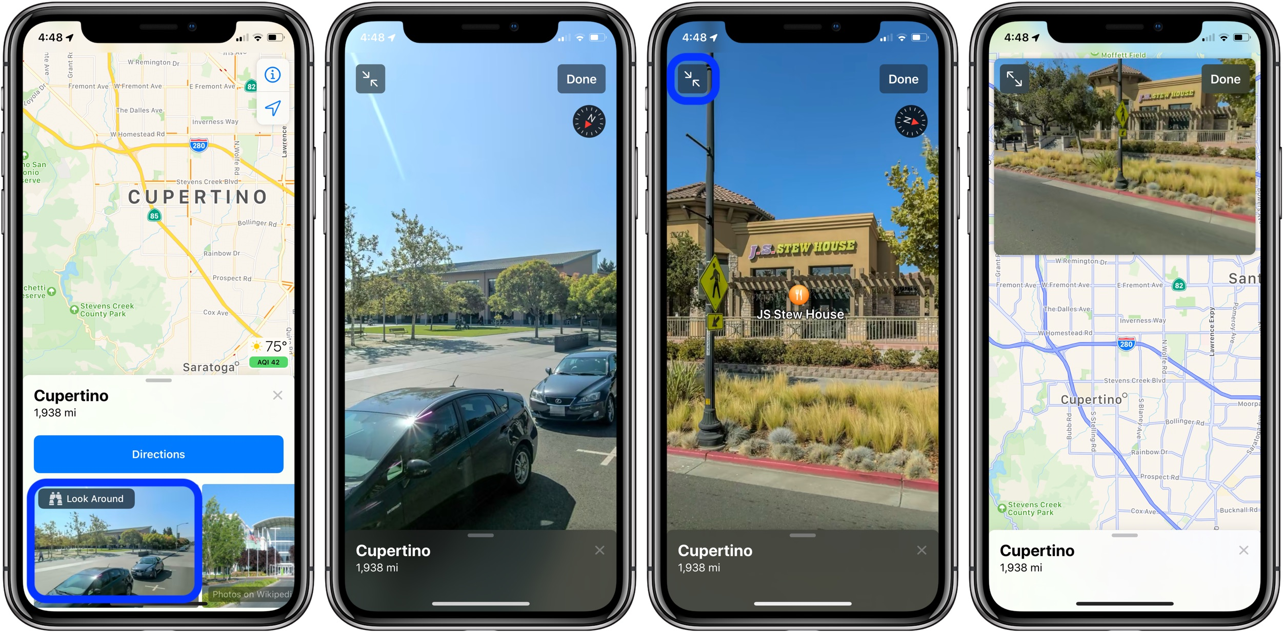 How To Use Apple Maps Street View Like Feature Look Around