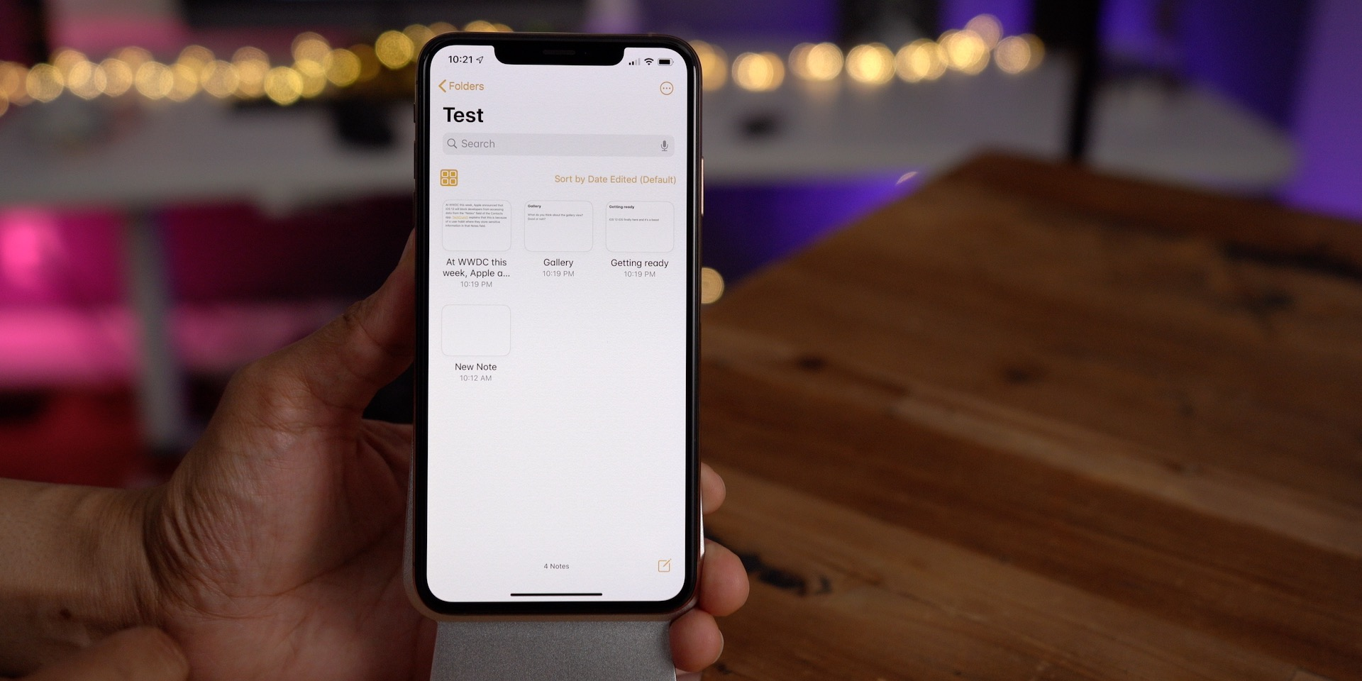 iOS 13 changes Notes