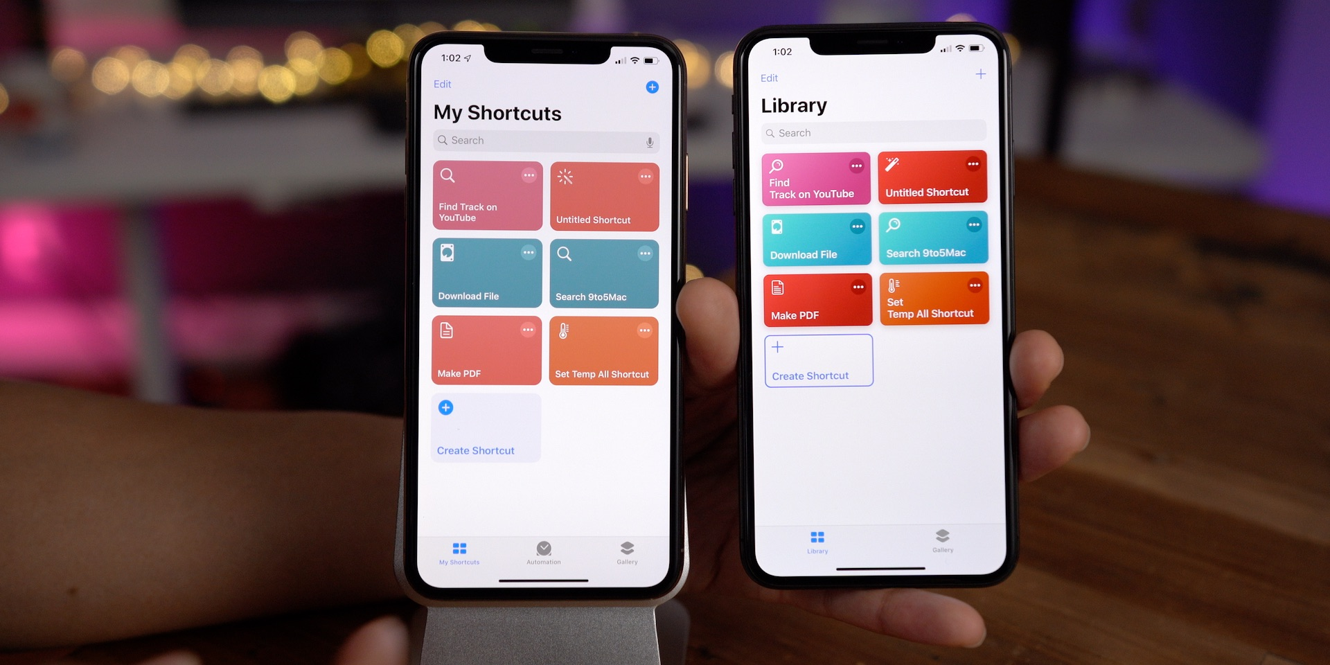 iOS 13 changes Shortcuts app