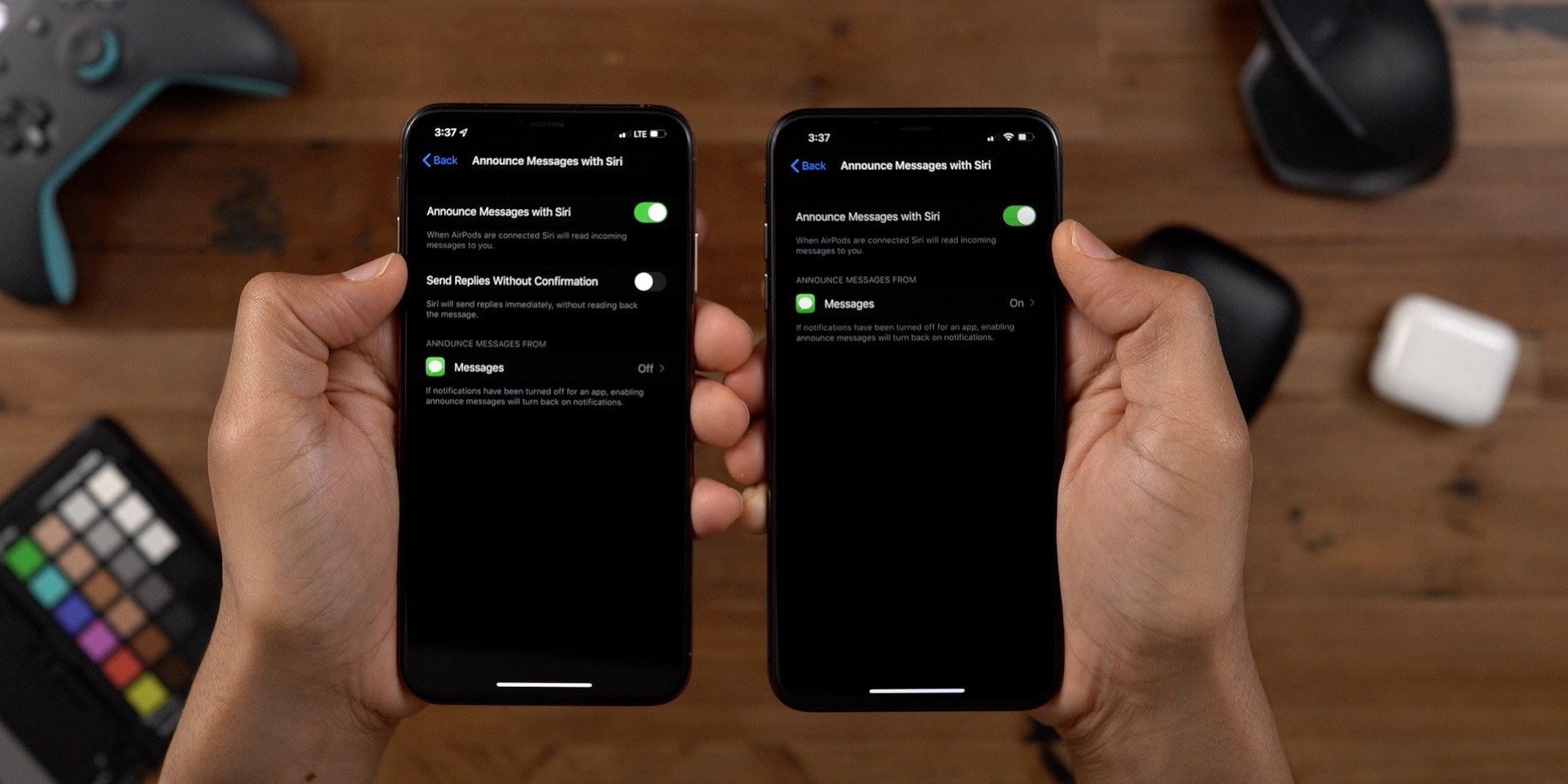Announce Messages with Siri iOS 13 beta 2