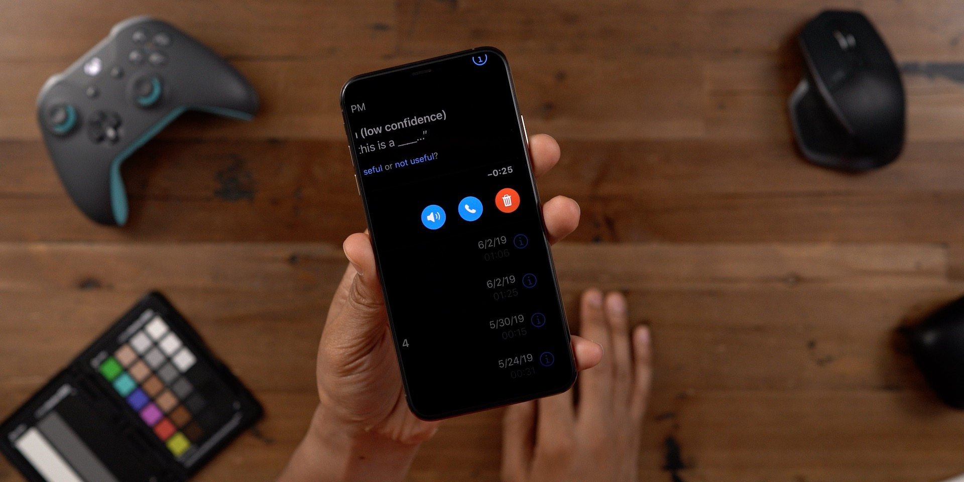 Larger voicemail buttons iOS 13 beta 2