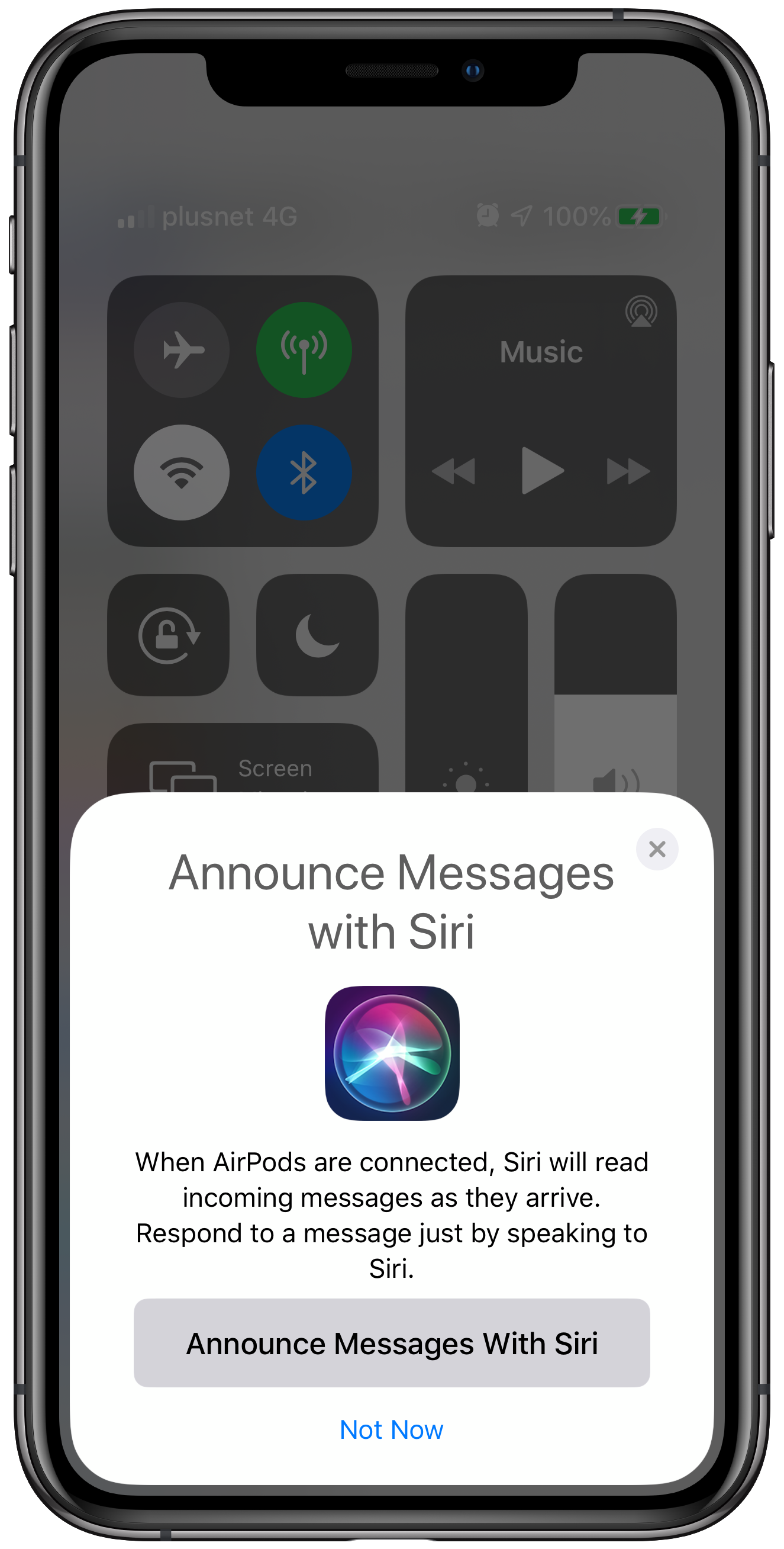 What is Announce Messages with Siri? How to customize the