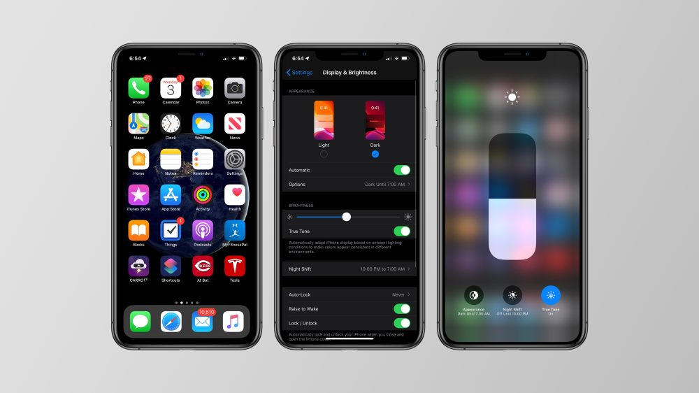iOS 13 features