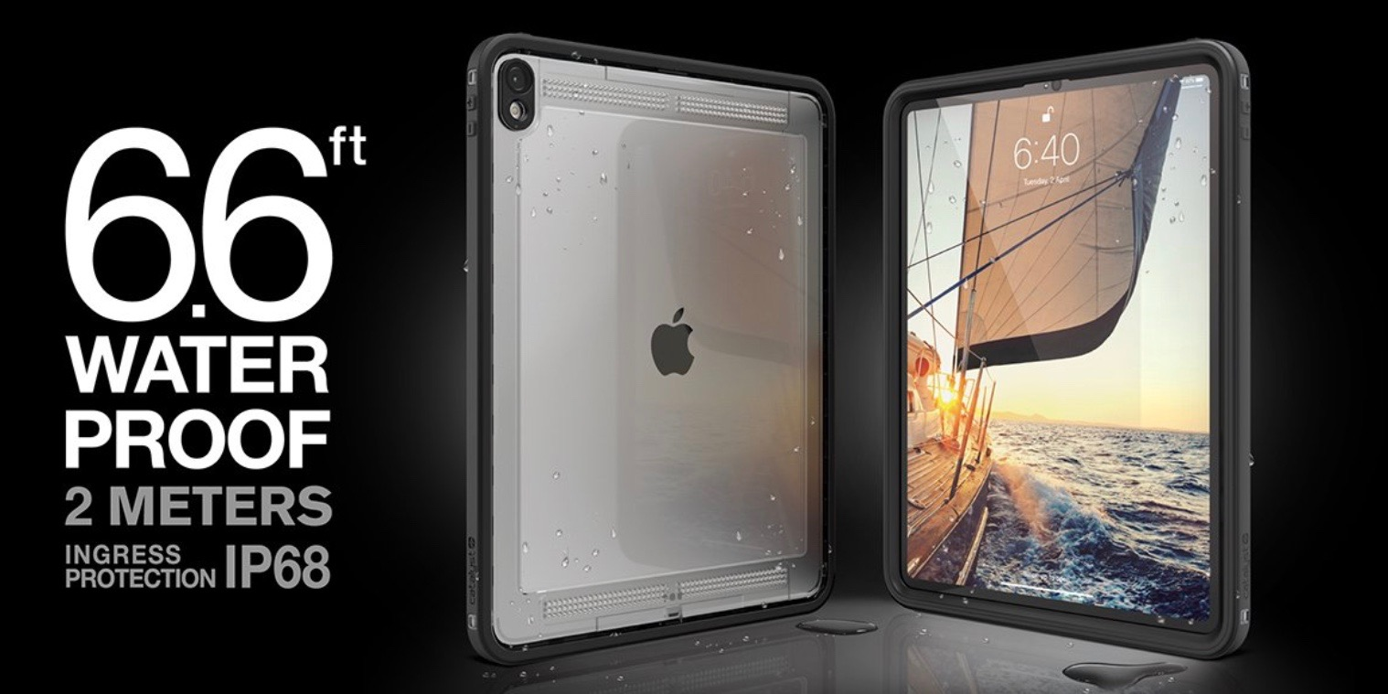 Catalyst makes Apple's latest iPad Pros beach-ready with new waterproof cases