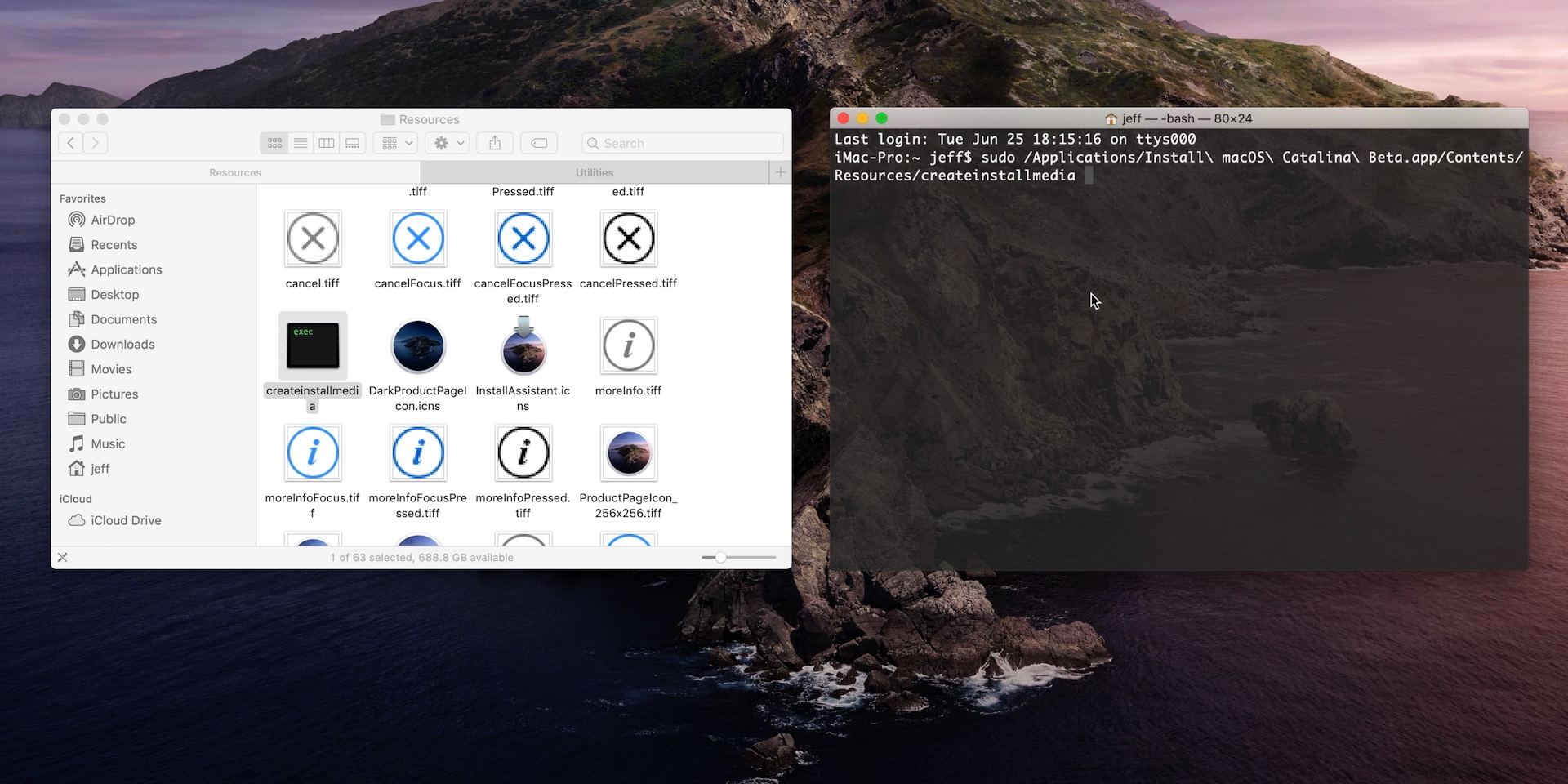 How to create a bootable macOS Catalina 10 15 USB install