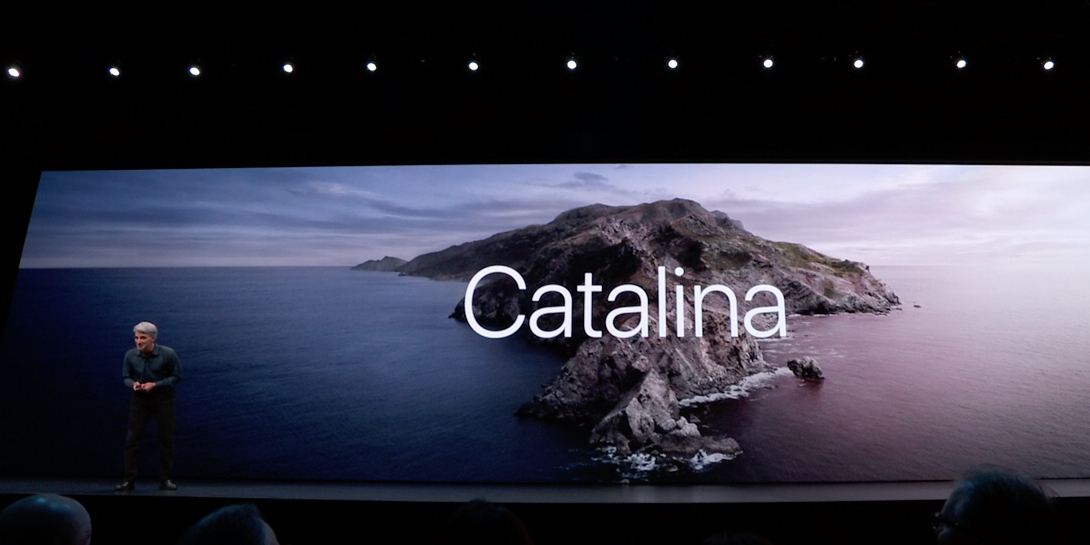 Apple announces macOS Catalina: Music, Podcasts, TV app, Sidecar