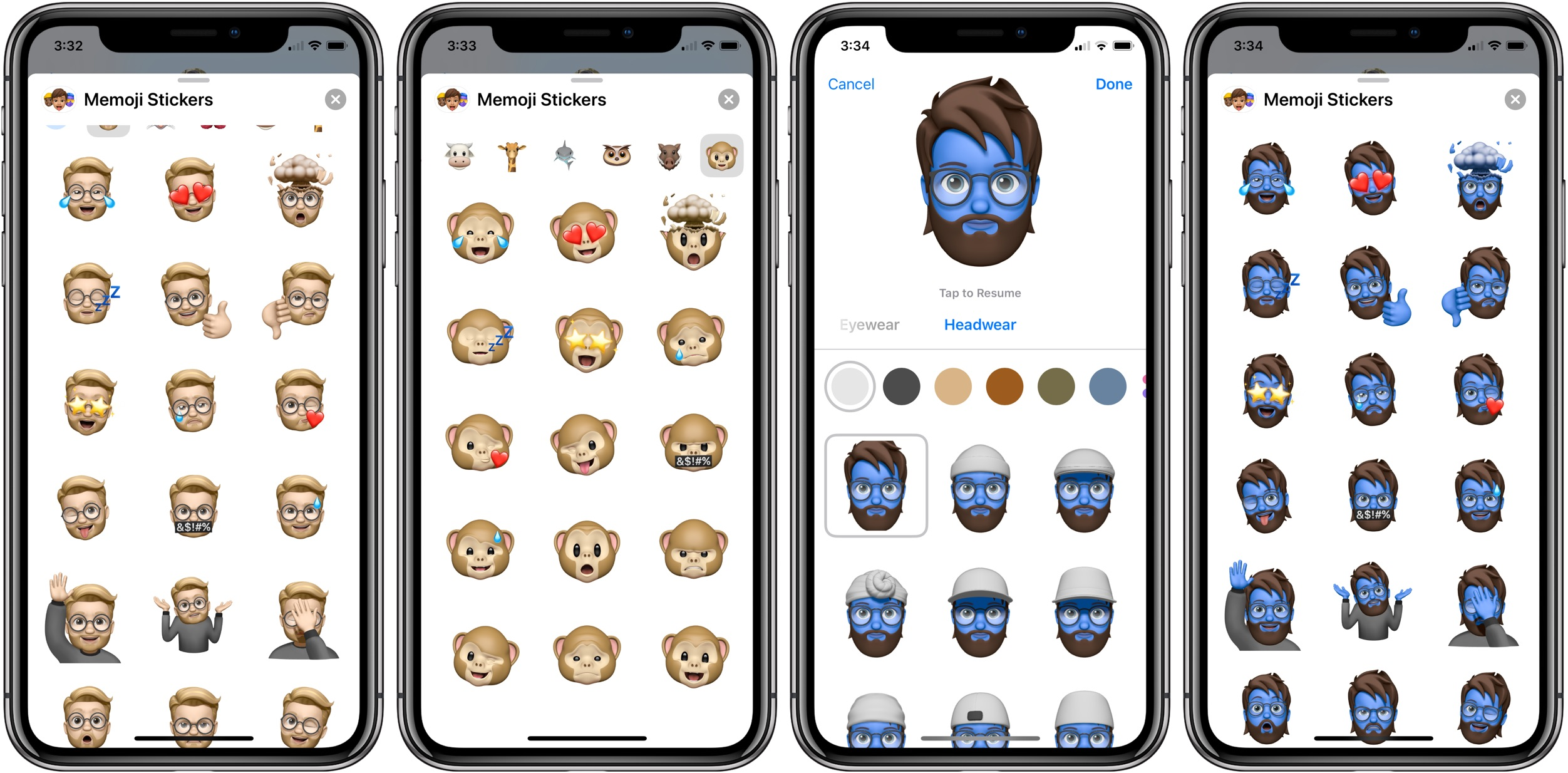 How to use Memoji Stickers on iPhone walkthrough
