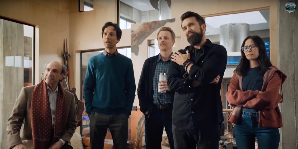 photo of New trailer for Apple TV+ comedy 'Mythic Quest' teases 'Always Sunny' star Rob McElhenney as outlandish creative… image