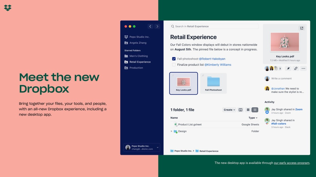 Dropbox launches new Mac app to unify the experience with iOS and web, new collaborative tools, integrations, more - 9to5Mac thumbnail