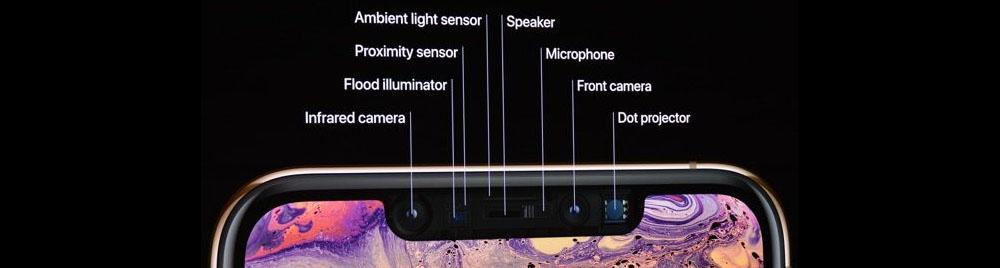 iPhone X family notch