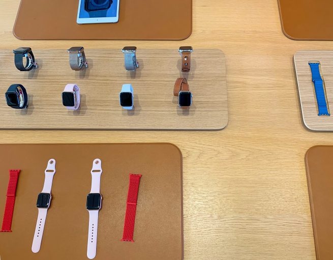 Apple Watch Collection Stand