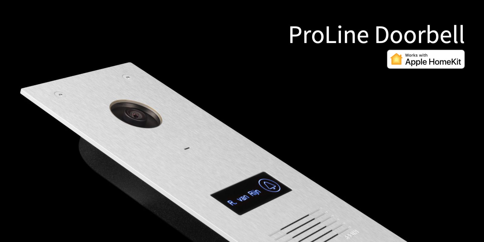 ProLine HomeKit doorbell announces plans to support new iOS 13 iCloud video recording