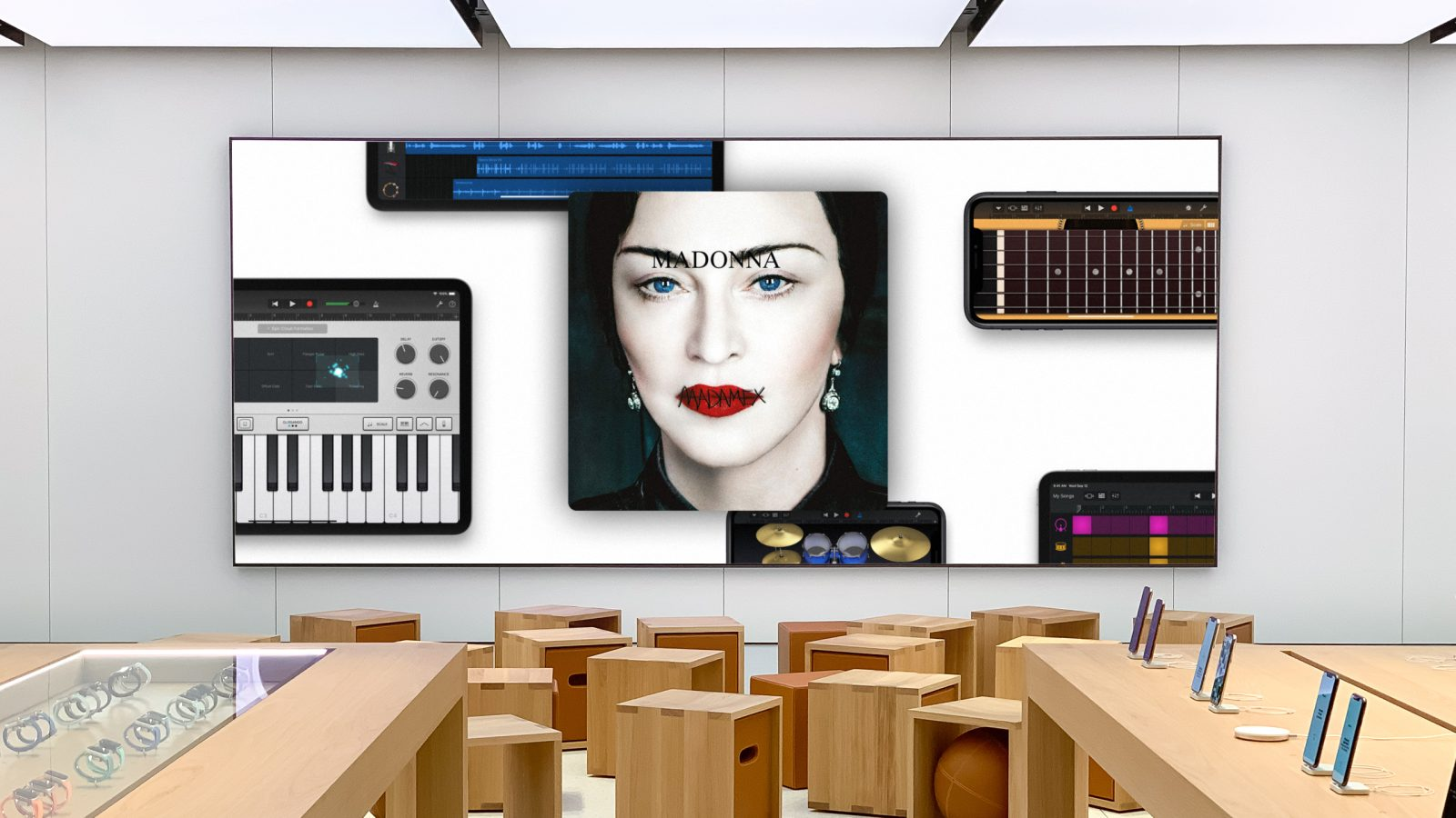 Madonna's new Today at Apple Music Lab teaches the art of the remix