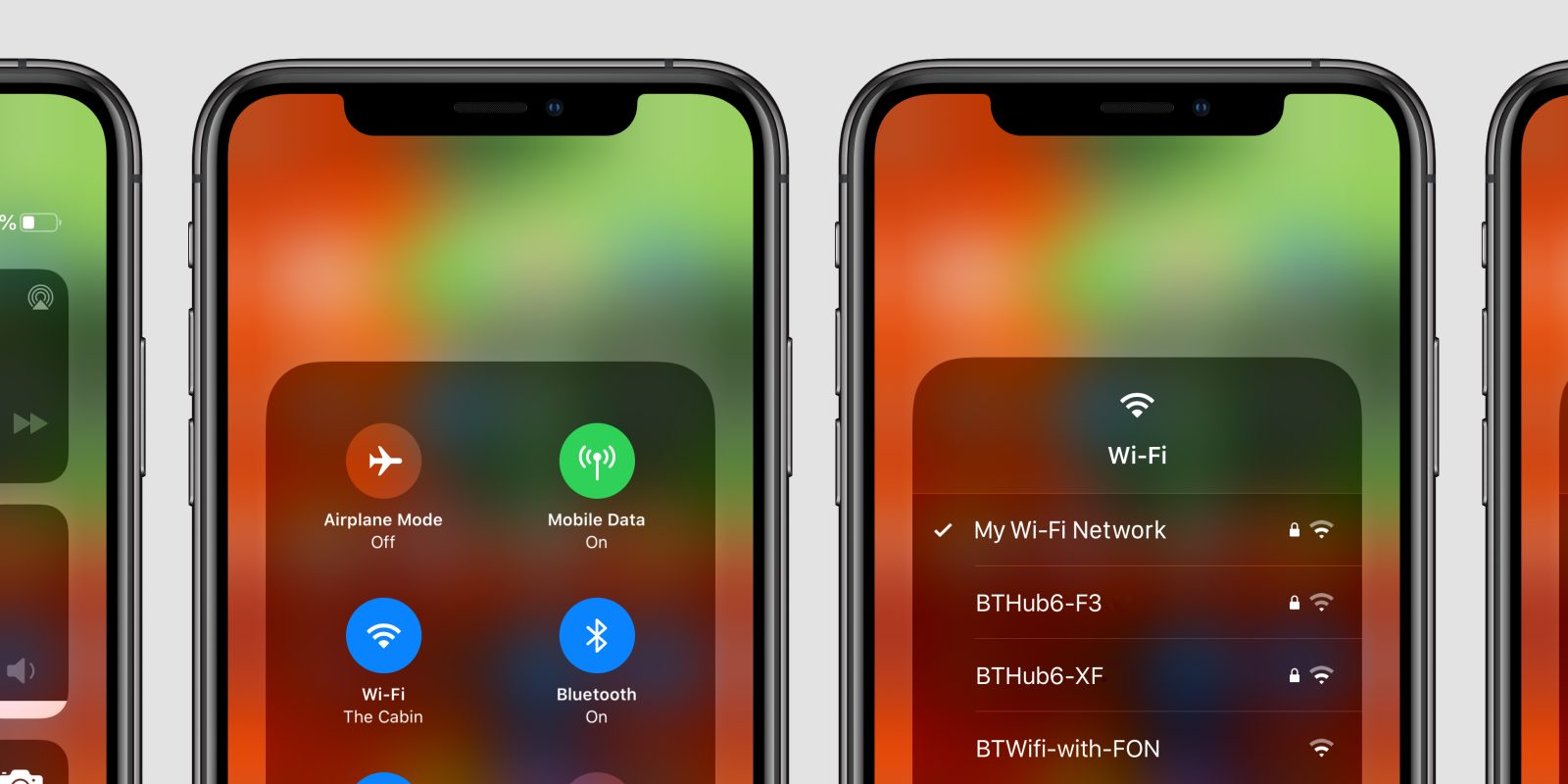 iOS 13: How to switch WiFi networks from Control Center