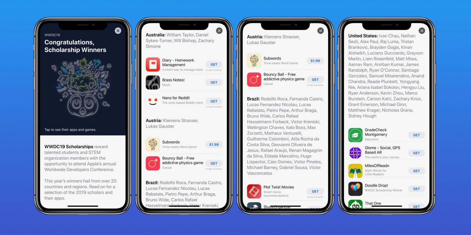 Apple Features Apps And Games From Wwdc Scholarship Winners In App