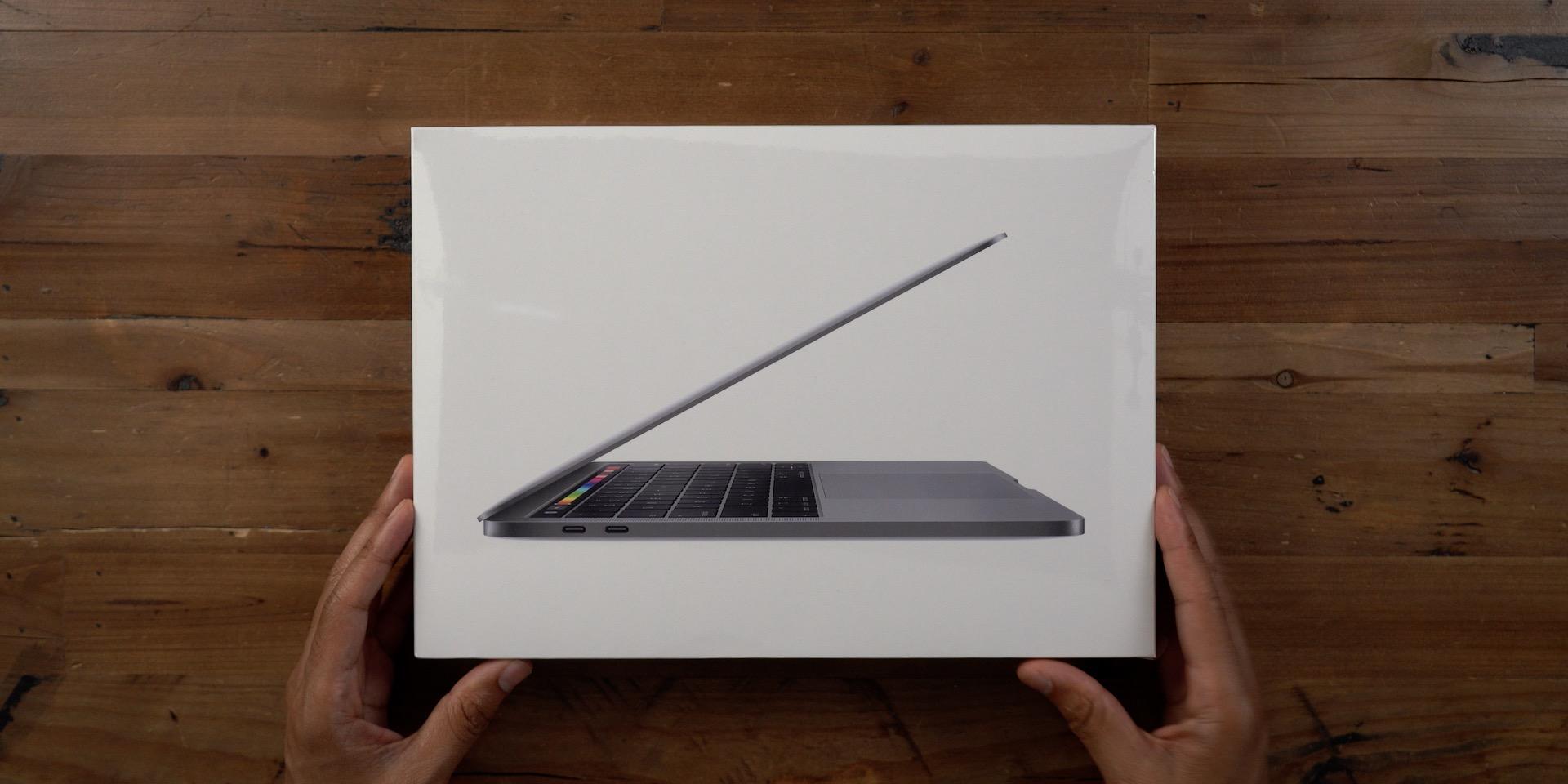 2019 MacBook Pro Box