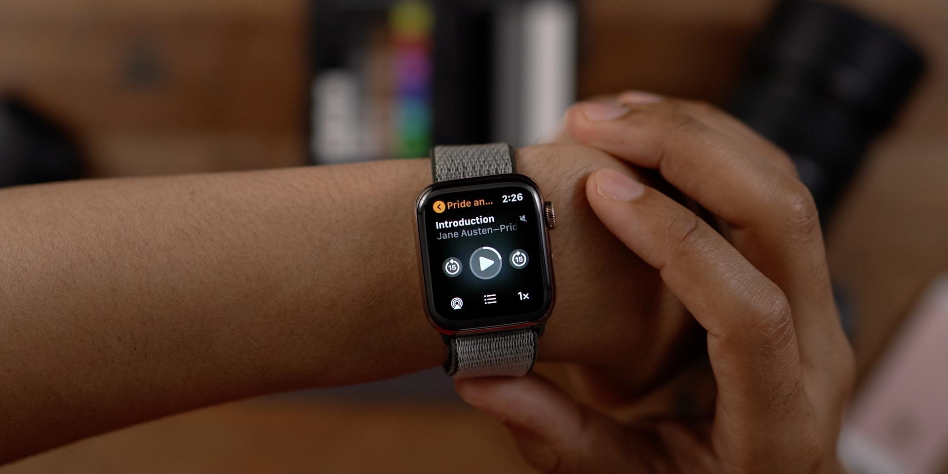 Audiobooks Apple Watch