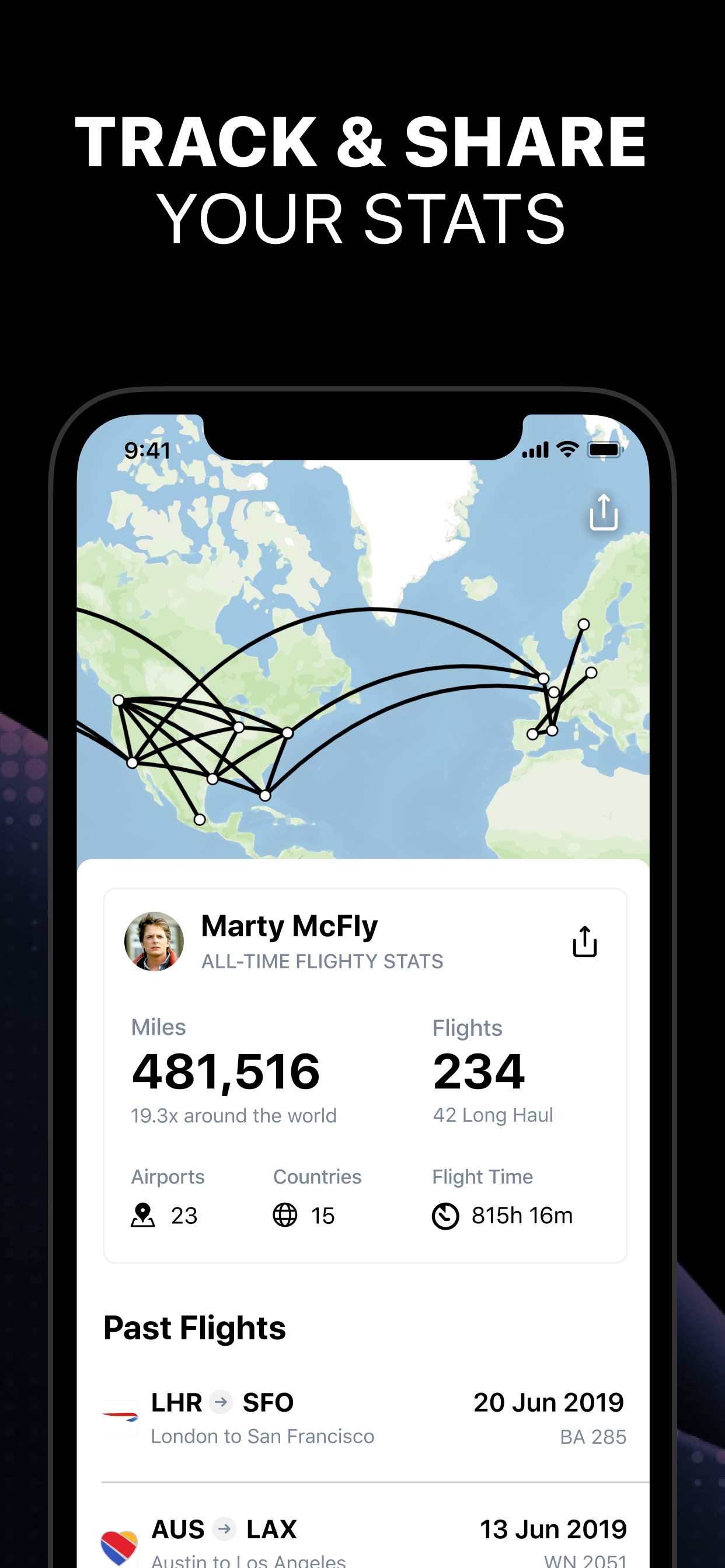 Flighty for iOS is a data-driven flying assistant app- 9to5Mac