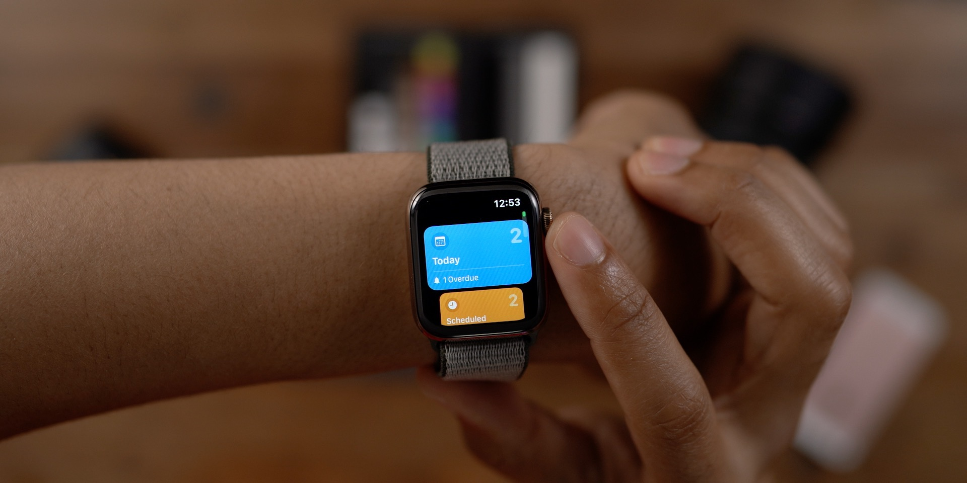 Reminders app redesign watchOS 6
