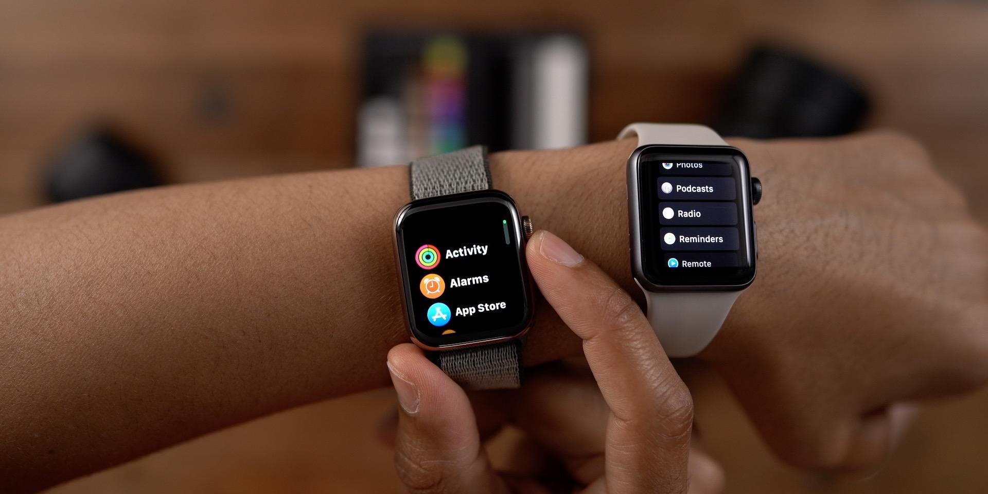 New list view design watchOS 6