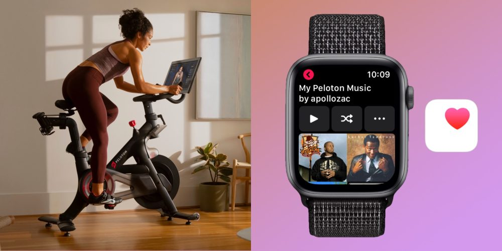 Peloton Apple Watch Health