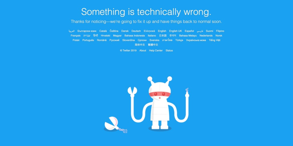 photo of You're not alone, Twitter is down and no one can tweet image