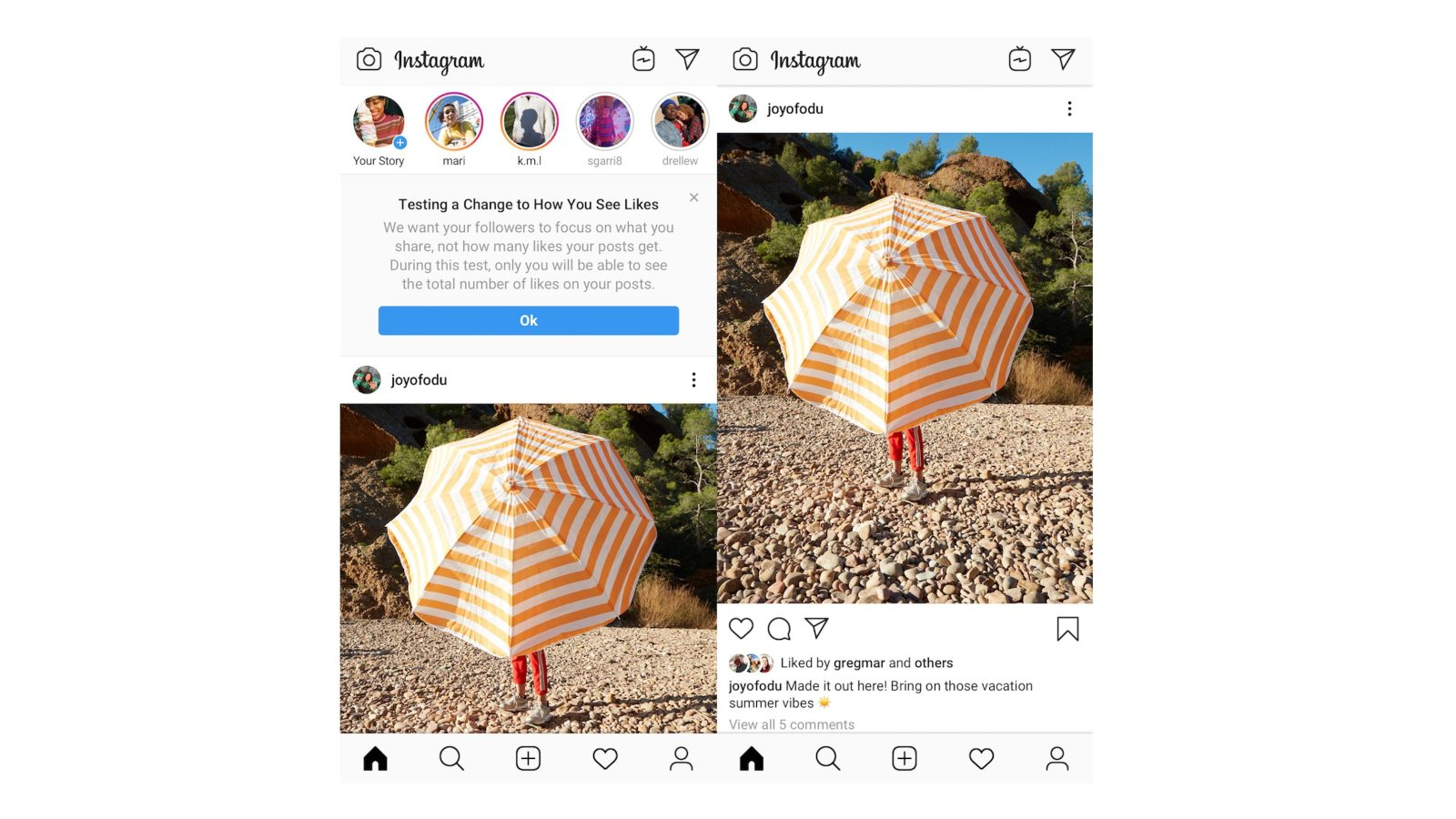 [Update: Rolling out now] Instagram to start hiding like counts in the US as test expands