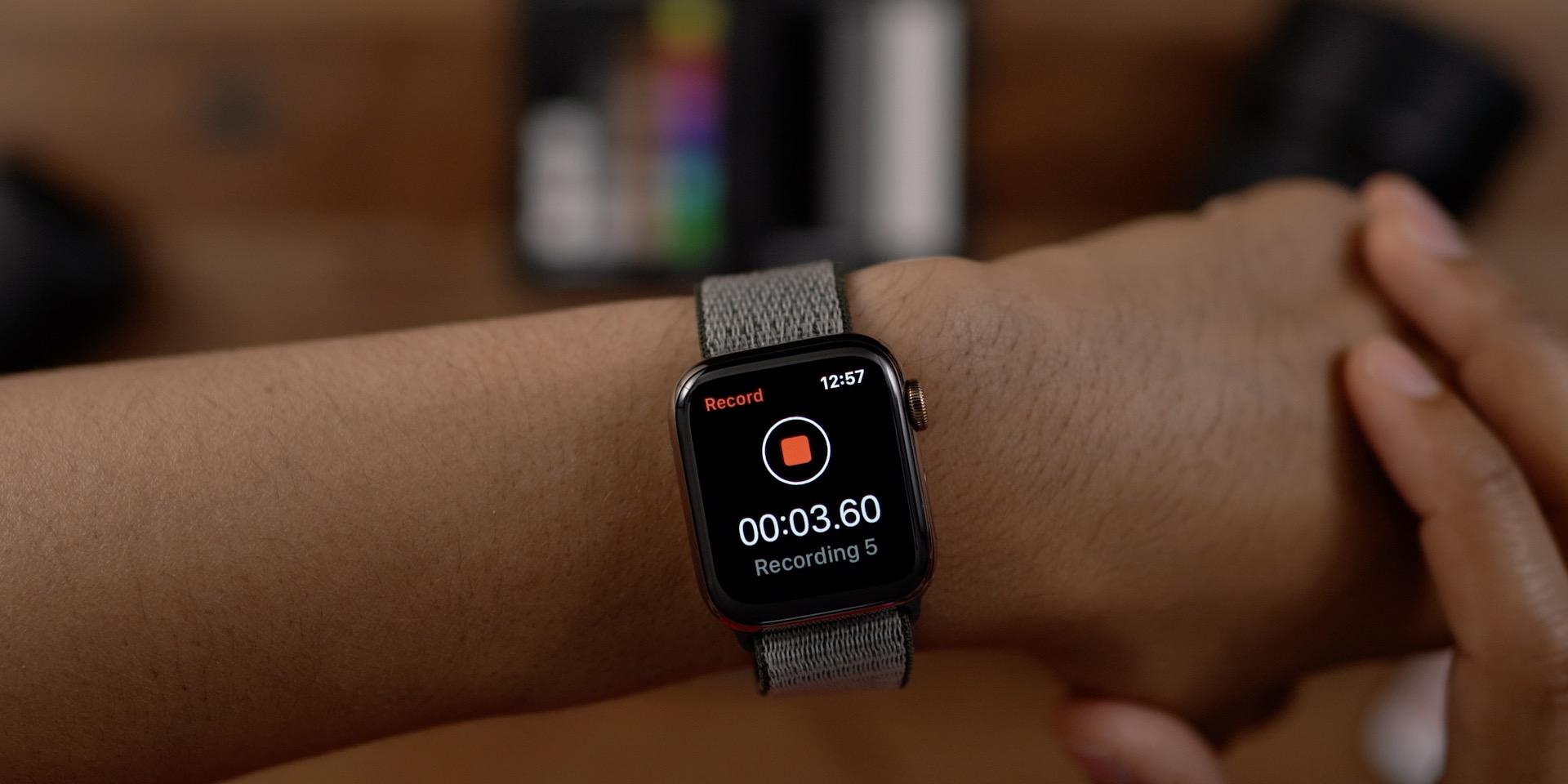Voice Memos Apple Watch
