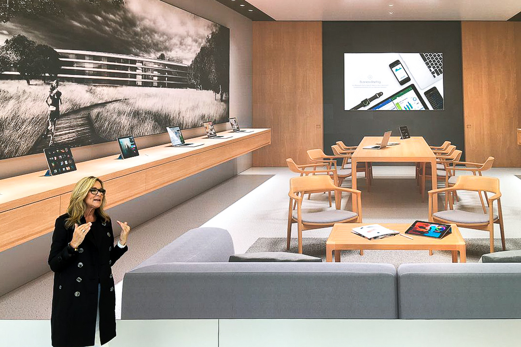 Cataloging The Modern Furnishings Of Apple Store Boardrooms