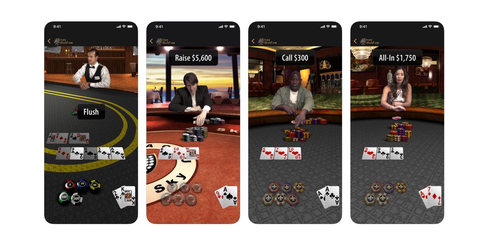 Apple revives classic Texas Hold'em iOS game to mark 10 years of the App Store