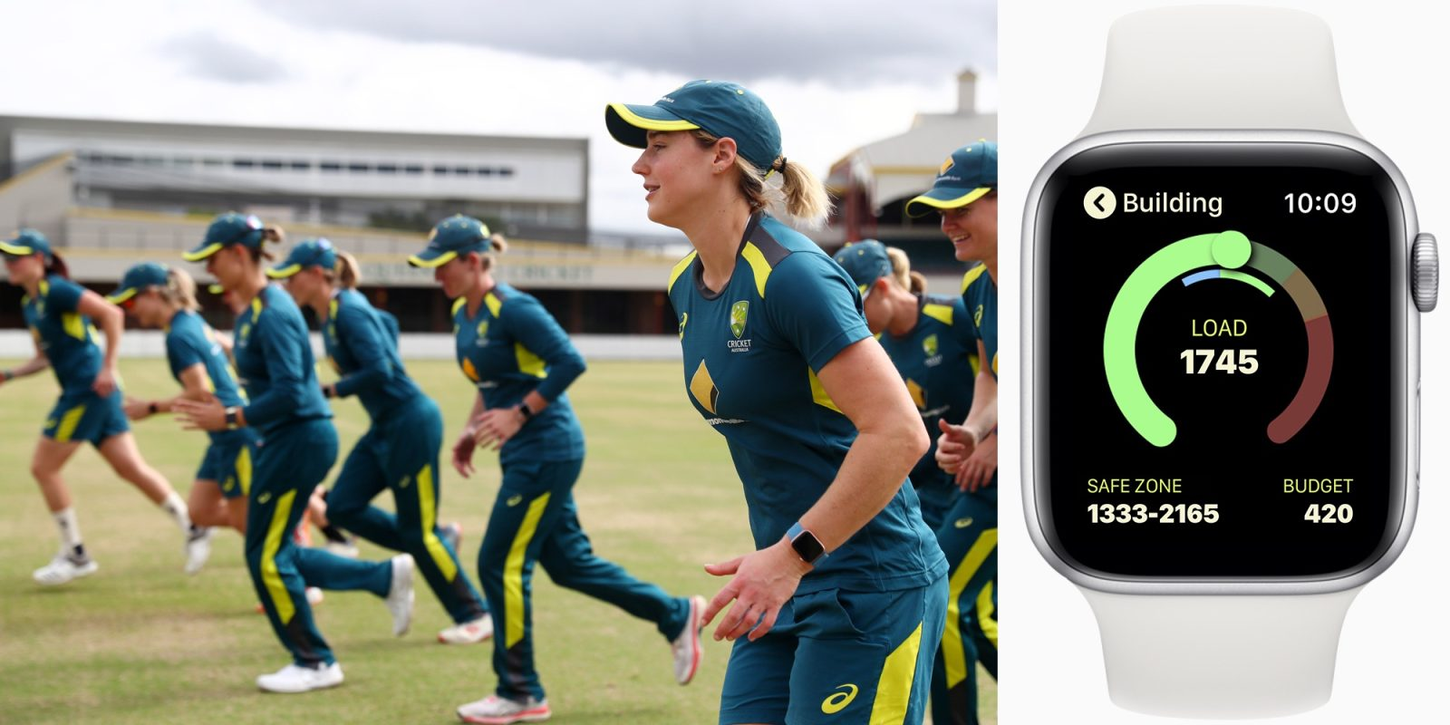 Apple Watch helping Australia's Women's Cricket team optimize training and avoid injury