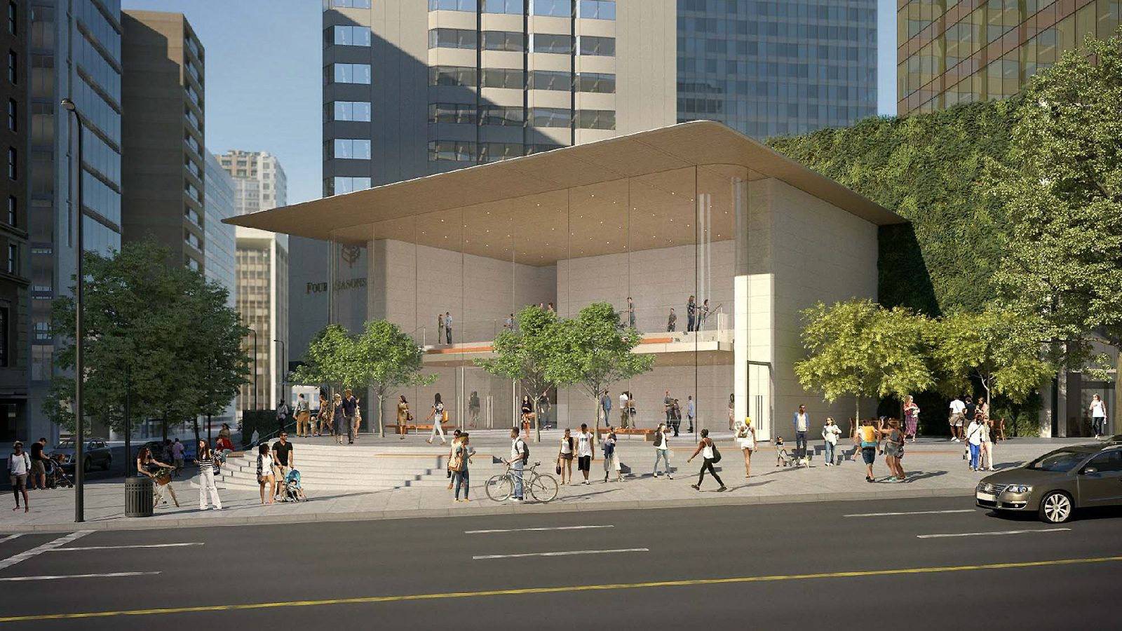 City of Vancouver approves contested Pacific Centre Apple Store development