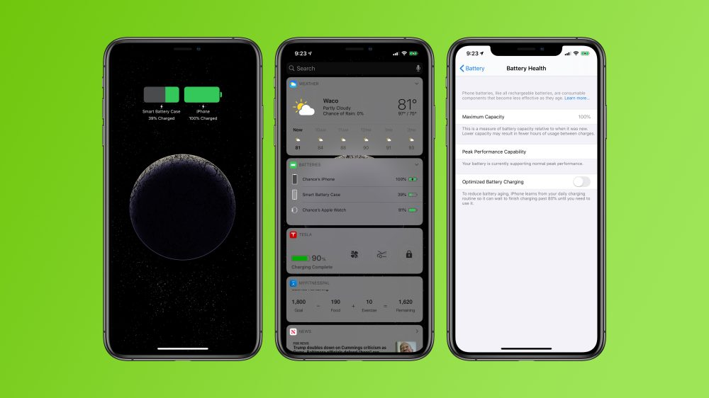 best service 7e918 cddde Hands-on: The best iPhone battery cases for XS/XR/XS Max - 9to5Mac