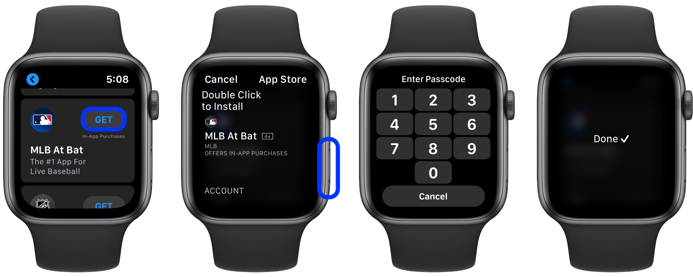 How to download apps directly on Apple Watch walkthrough 2