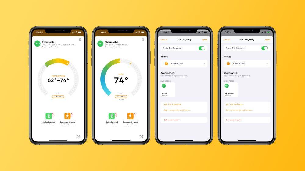 Ecobee SmartThermostat HomeKit