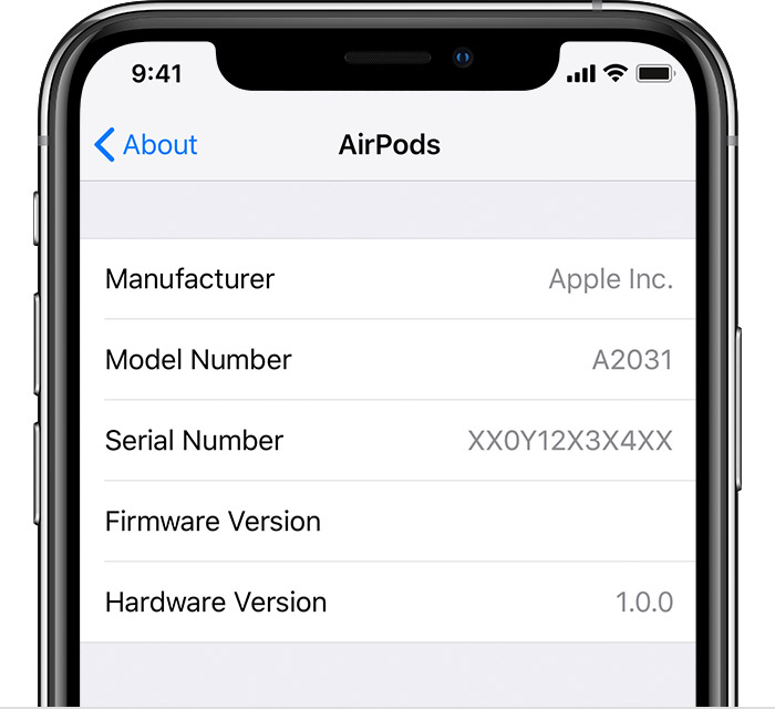 Sforum - Latest technology information page find-airpods-serial-number-iphone-settings Guide you to check the serial number on the most accurate AirPods