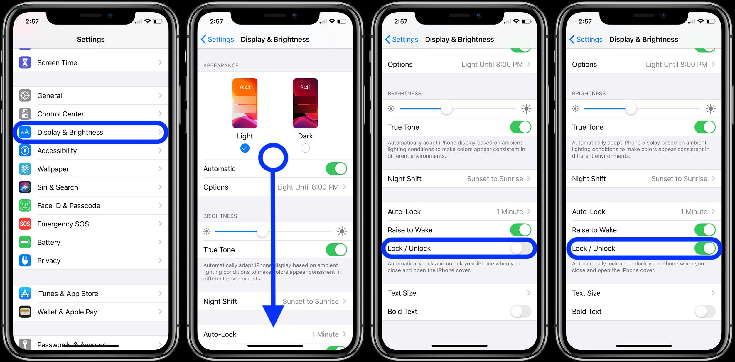 iPhone 如何实现自动锁定和解锁?