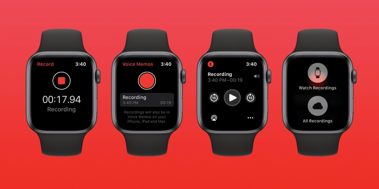 watchOS 6: How to record Voice Memos on Apple Watch - 9to5Mac