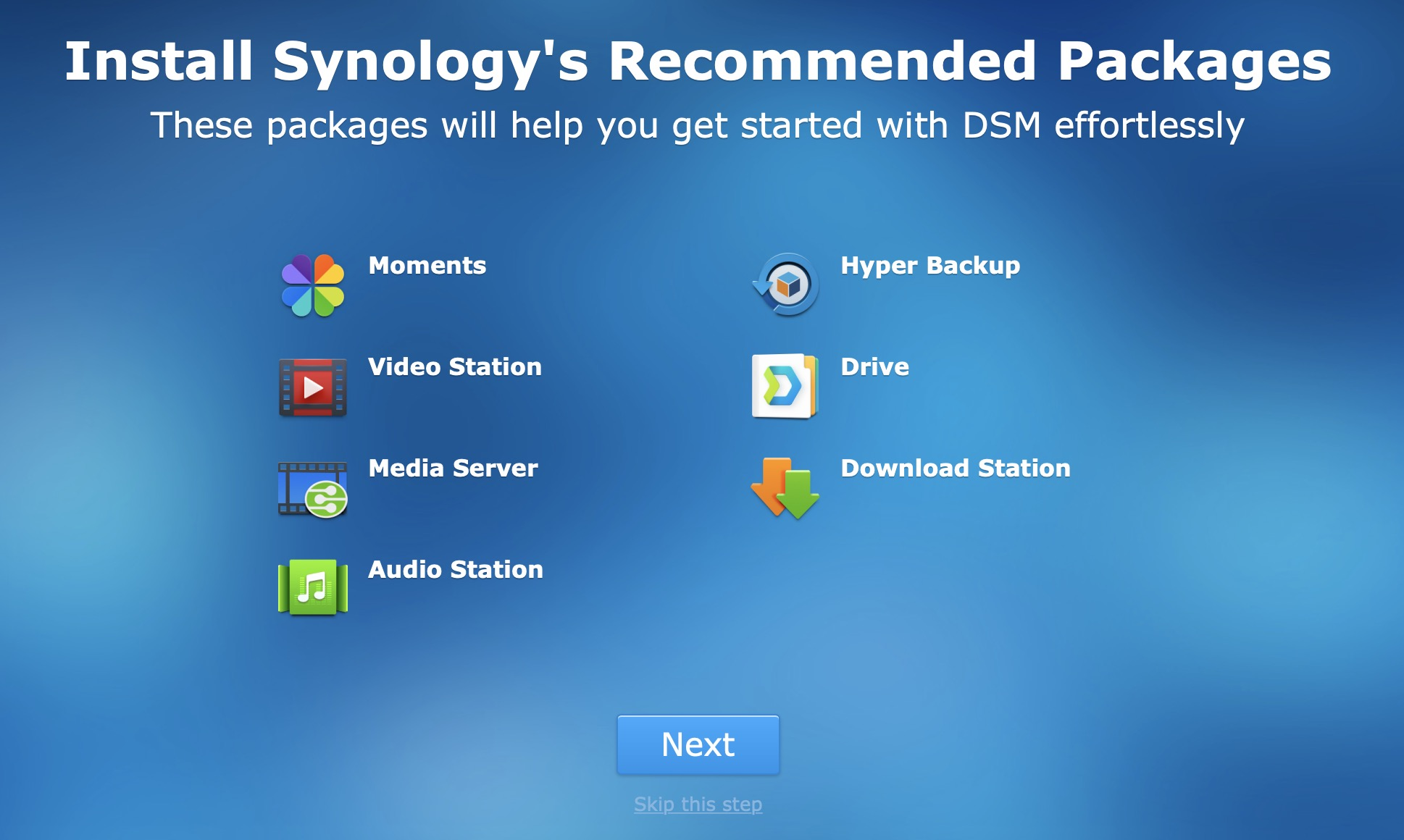 Synology Download